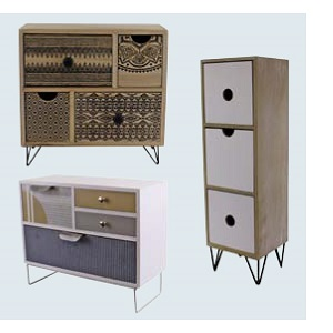 Contemporary Trinket Drawers